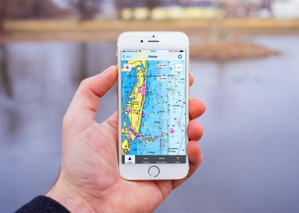 iAIS app náutica