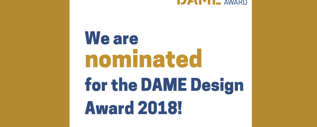 doble nominacion premio DAME