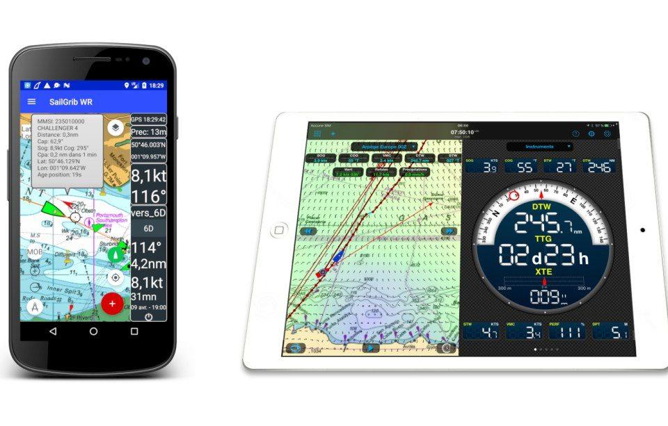 aplicaciones de navegación Weather 4D y