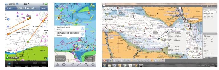 Aplicaciones de navegación compatibles con nomad