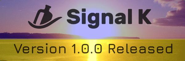 Nueva versión 1.0.0 de Signal K