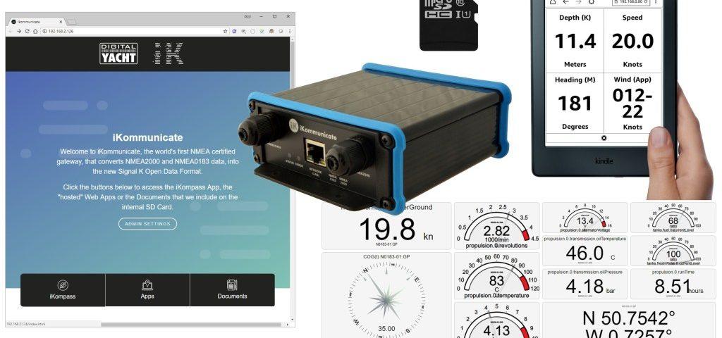 iKommunicate conversor de nmea a wifi