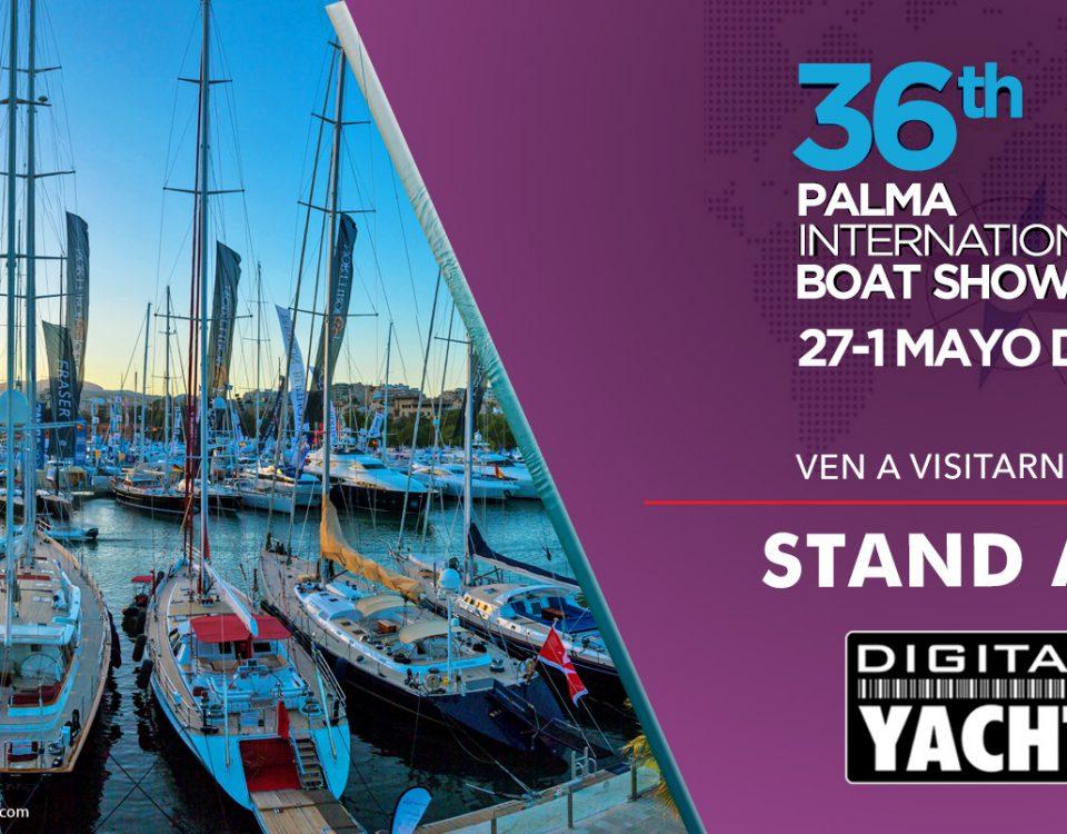 Digital Yacht en el Salon náutico de Palma