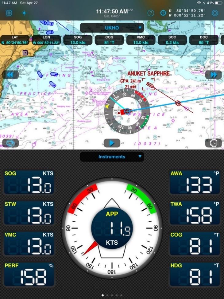 Weather 4D captura de pantalla instrumentos