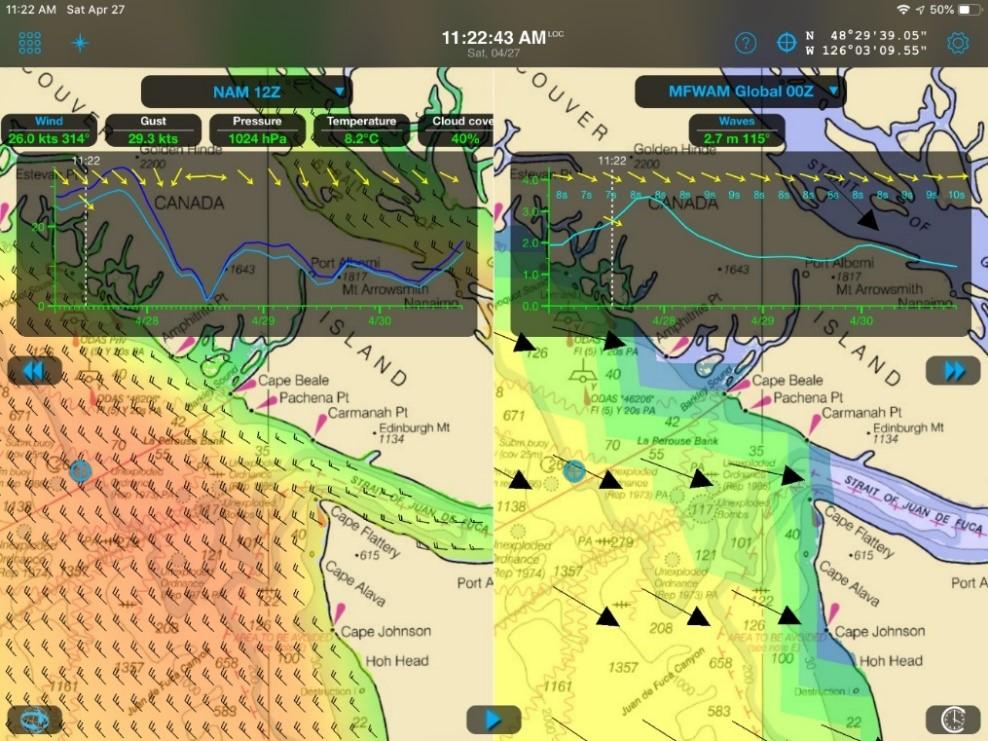 Weather 4D captura de pantalla