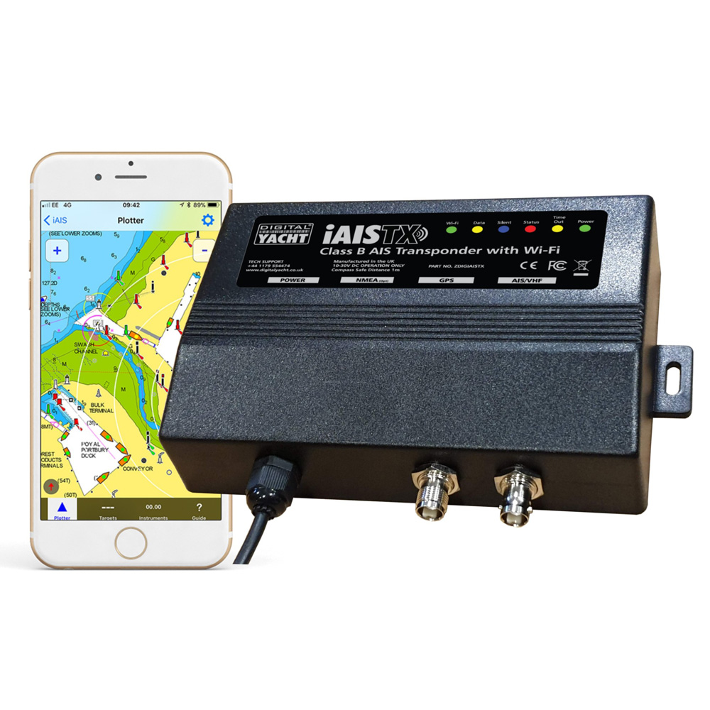 iAISTX es un nueveo transpondedor AIS