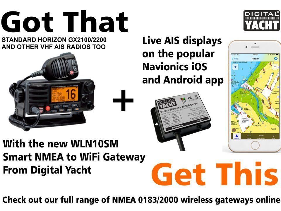 Actualice su radio VHF-AIS Standard Horizon a inalámbrica