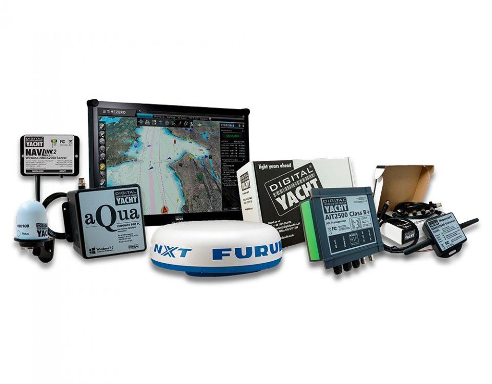 sistema de navegacion Pc con radar furuno y TimeZero