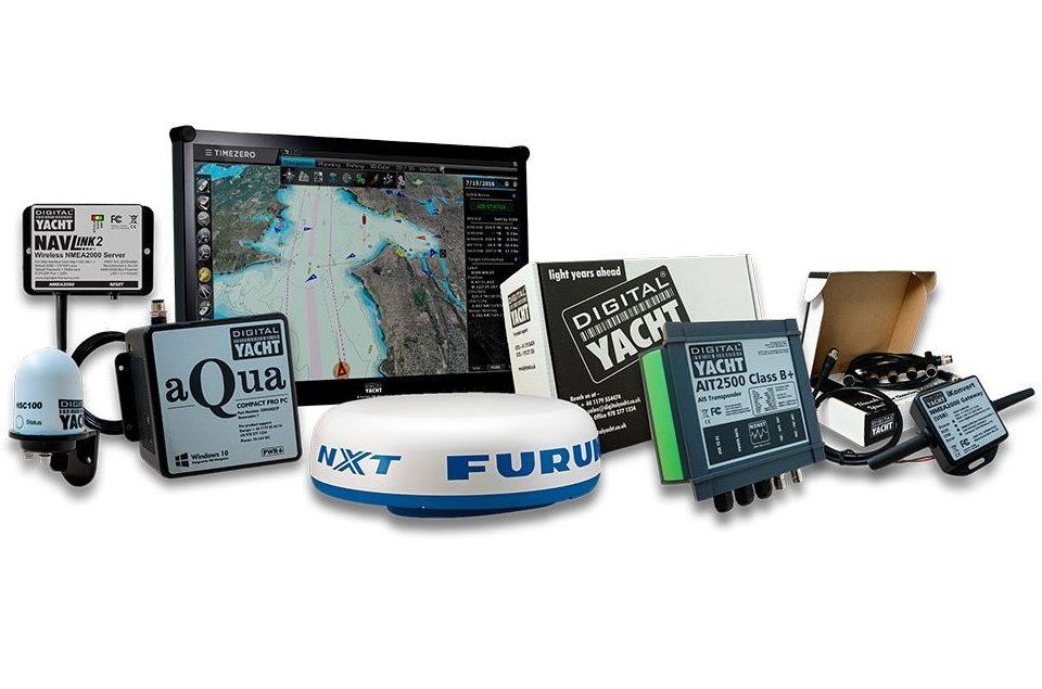 sistema de navegacion PV con radar furuno y timezero